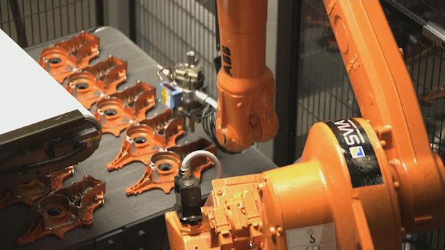 Автоматизированные линии на заводе Husqvarna