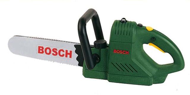 Игрушечная электропила Bosch