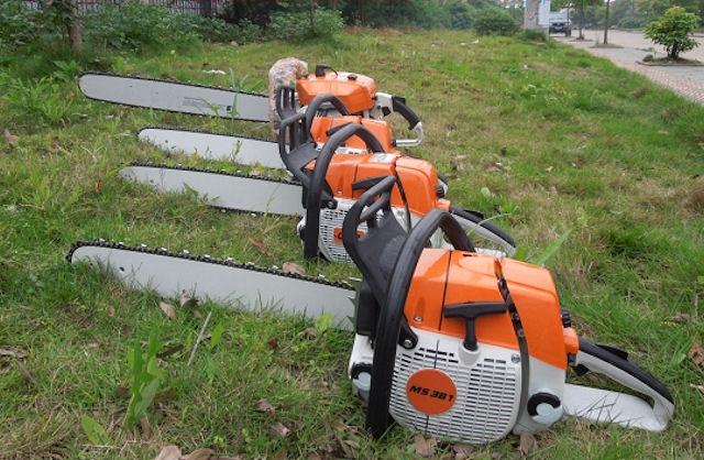 Поддельные бензопилы Stihl на Gardentool-2013